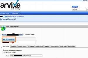 Arvixe主机添加子域名教程